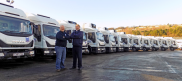 Castell Howell Add 14 Iveco Vehicles to their Fleet