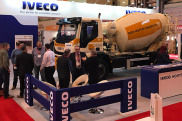 IVECO all set for The UK Concrete Show with a truck the city likes