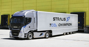 Iveco launches the New Stralis XP: the long haulage TCO 2 Champion