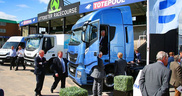 Iveco showcases Natural Power technology to major UK fleets