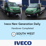 Handover- The New Generation Iveco Daily