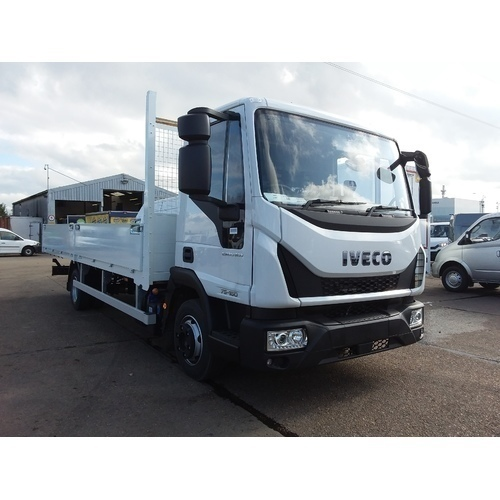 IVECO ML75E16S, CHASSIS CAB, 4815 W/B, 7.5T, 21FT SCAFFOLD DROPSIDE, EURO 6 - ACO000518
