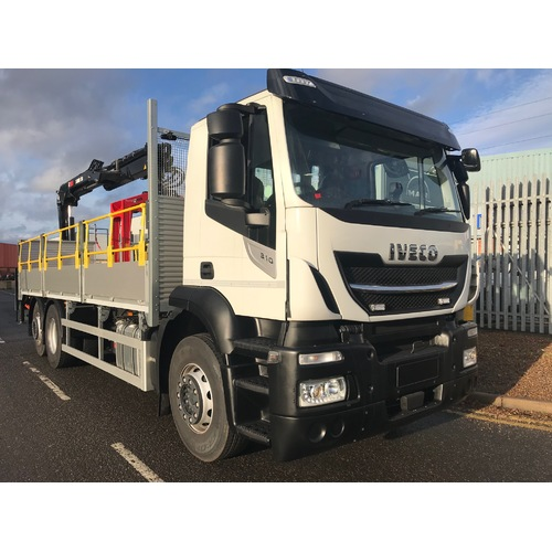 IVECO AD260S310YPS, 7.2M ALLOY DROPSIDE, 4800 W/B, 26T, EURO 6