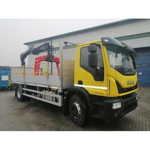 EUROCARGO ML180E25S EURO 6, 5175MM W/B, MERCHANTS REAR MOUNTED CRANE TRUCK - ACO000568