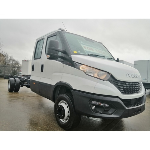 IVECO 70C18D CREW CAB PREMIUM BUSINESS 5100 CHASSIS CAB RECOVERY SPECIFICATION