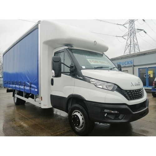 *NEW* IVECO DAILY 72C18 EURO 6 HIMATIC 20FT CURTAINSIDER WITH BARN DOORS