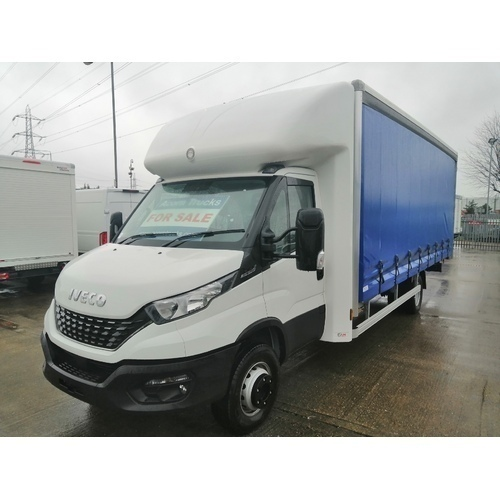 *NEW* IVECO DAILY 72C18 EURO 6 HIMATIC 20FT CURTAINSIDER WITH 1 TONNE TUCKAWAY TAILIFT WITH BARN DOORS