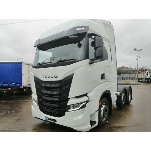 *NEW* IVECO S-WAY 6X2 570BHP TRACTOR UNIT - ACO000582