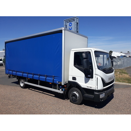Iveco Eurocargo 75E16 Driveaway Curtainside and Tail lift - GUE000419