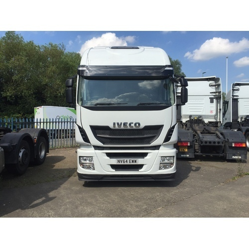 Iveco Stralis AS440S46TX/P Euro 6 Tractor Unit NV64 EWW
