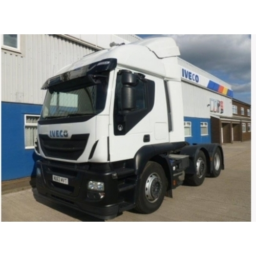 Iveco Stralis AT440S46TXP Tractor Unit NV63 MVT